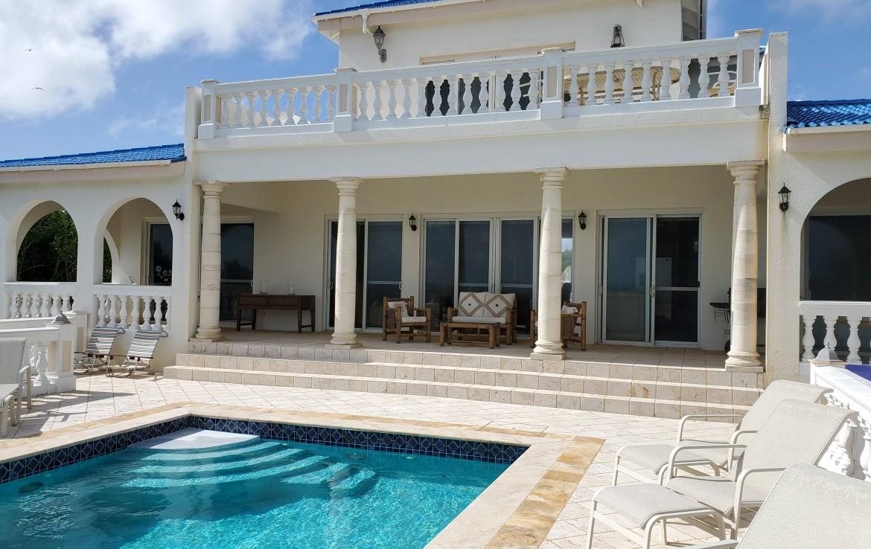 Villa & Pool SE Corner