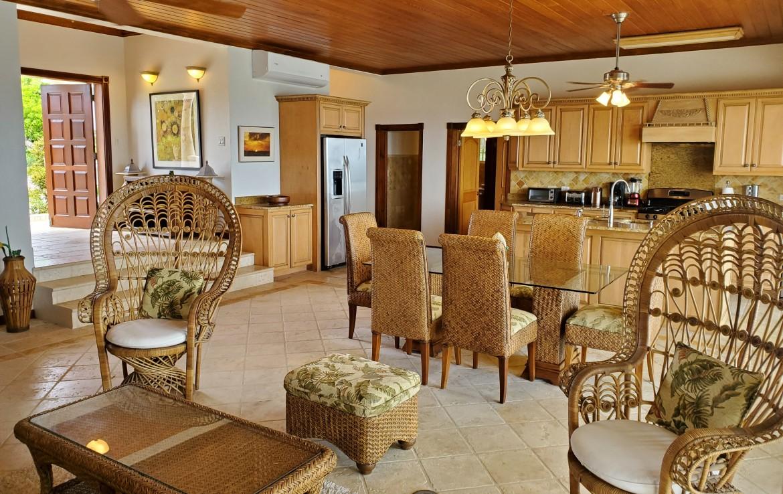 Living Room & Kitchen SW Corner
