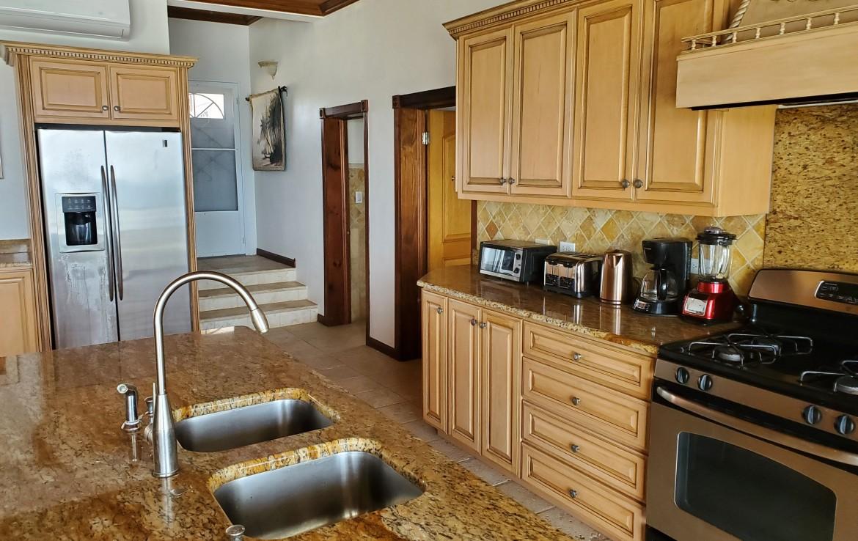 Kitchen View SW Corner